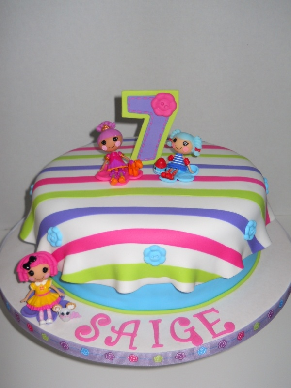 Lalaloopsy Cake CakeCentral.com