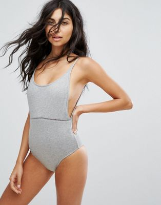40d23f9f38f4e Rhythm Scoop Swimsuit | Head to Toe in 2019 | Grey swimsuit, Latest ...
