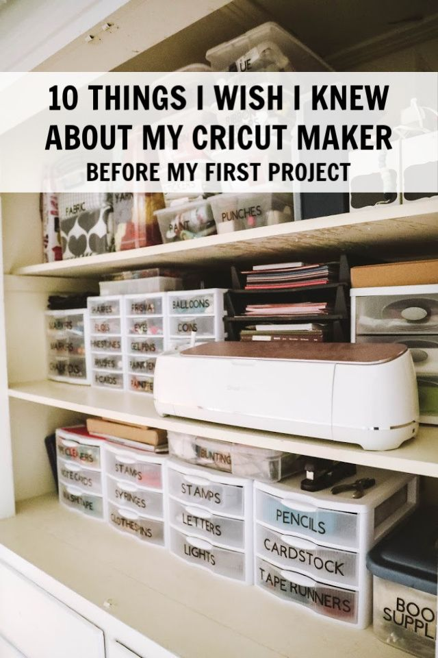 10 Things I Wish I Knew About My Cricut Maker before my 1st project-- Have you used fast mode yet?! #ad- C.R.A.F.T.