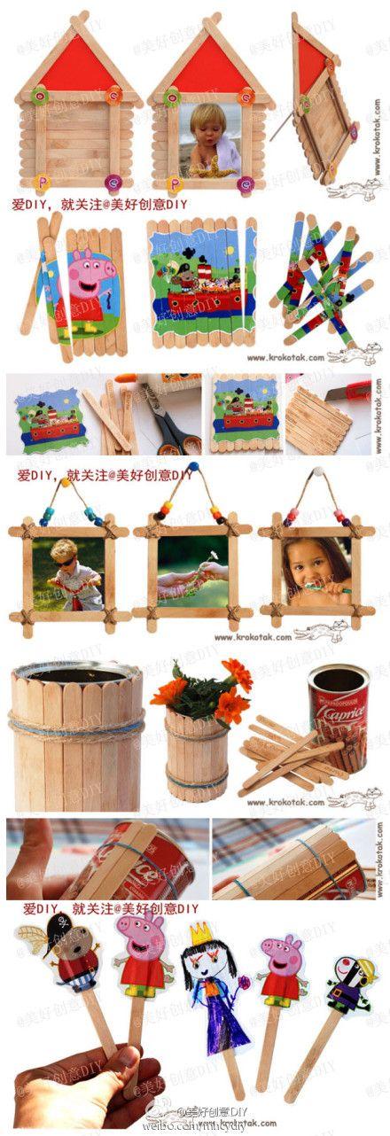 Ice Cream Sticks Creations!                                                                                                                                                      Plus                                                                                                                                                                                 Plus