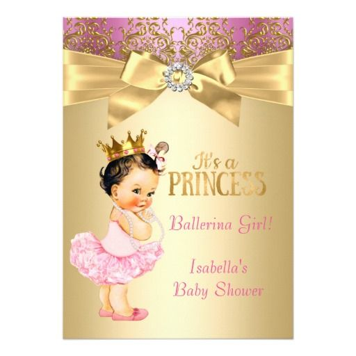 279 best Princess Baby Shower Invitations images on Pinterest | Baby shower gifts, Baby shower ...