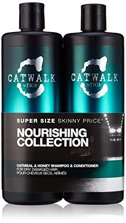Tigi Catwalk Oatmeal  Honey Shampoo and Conditioner 2536 Oz Tween ** To view further for this item, visit the image link.