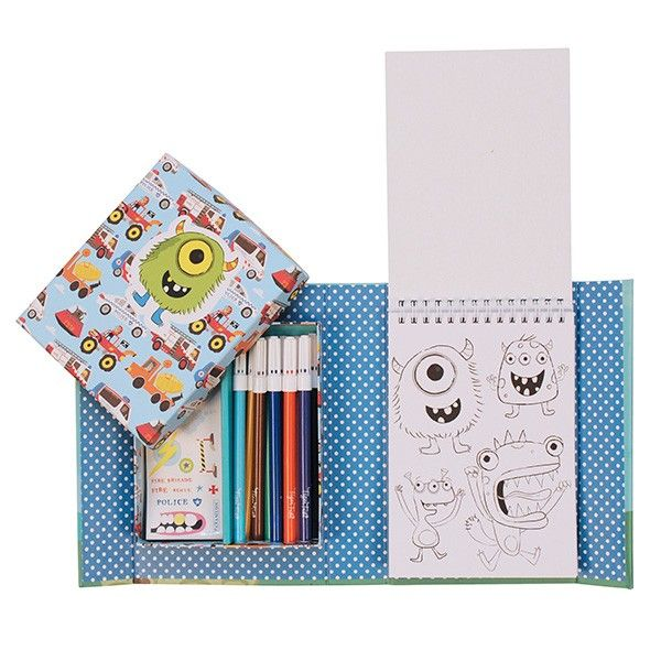 Piccolo Colouring Set for Boys at www.kidstoystoyou.com.au