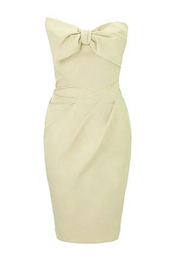 Robe Mini Robes Sexy Bow Bandeau Party Pas Cher www.modebuy.com @Modebuy #Modebuy #CommeMontre #me #dress #sexy