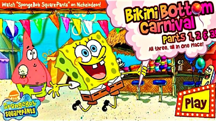 Game for Kids SpongeBob SquarePants Bikini Bottom