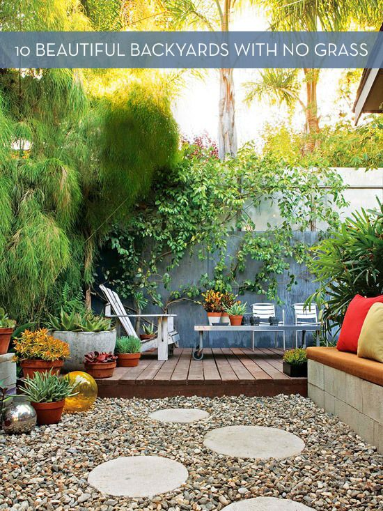Small Medium Large Original Source Via Back Yard Landscaping With