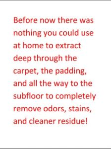 """Permanently Remove Spots and Odors From Your Carpet You Never Thought You Could"""