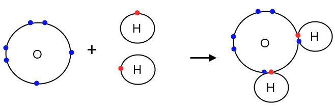 The octet rule states that main group atoms are most content with eight valence electrons (the electrons that are found in their outermost shells/orbits), the electron configuration of noble gasses. Atoms will behave (and form bonds) in a way to obtain this octet. Covalent bonds occur between two nonmetals. During a covalent bond, the atoms involved share their electrons to reach the desired octet.