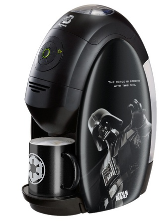 Star Wars Darth Vader coffee maker, for the times you want to go to the darker side of coffee.