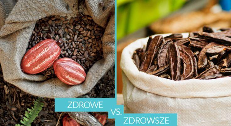 Ciemne, gorzkie i niezwykle aromatyczne. Takie jest kakao – boski proszek, który jednak… może spłatać nam porządnego figla. Na szczęście jest dobra alternatywa. To karob – kolega po fachu. I to bez skutków ubocznych!