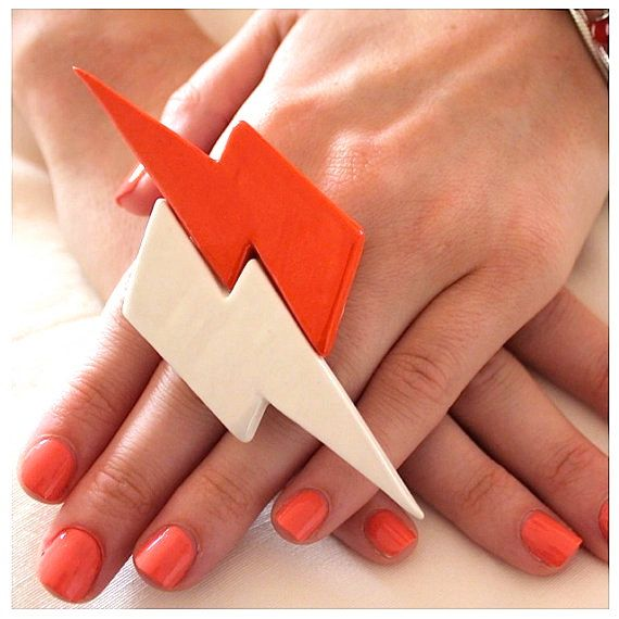 Lightning Bolt Ring Jerseylicious