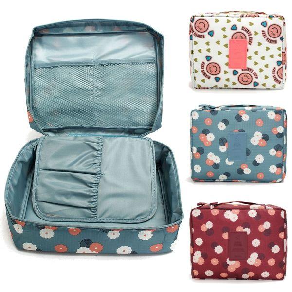 Buy Travel Cosmetic Makeup Case Bag Organizer Storage Toiletry Wash Pouchfor R243.32