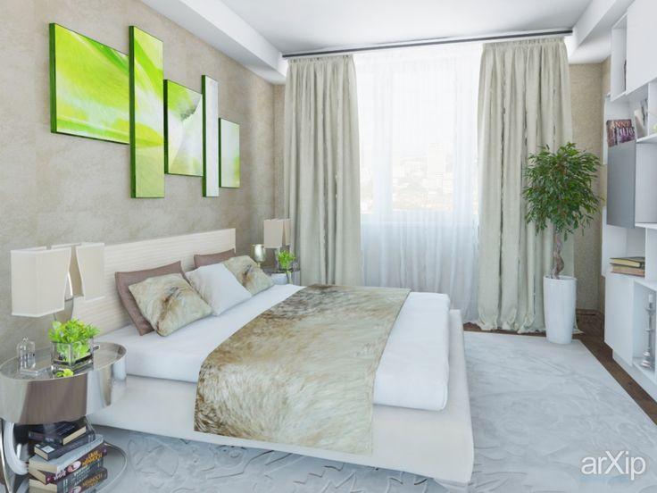 Спальня: интерьер, квартира, дом, спальня, современный, модернизм, 20 - 30 м2…