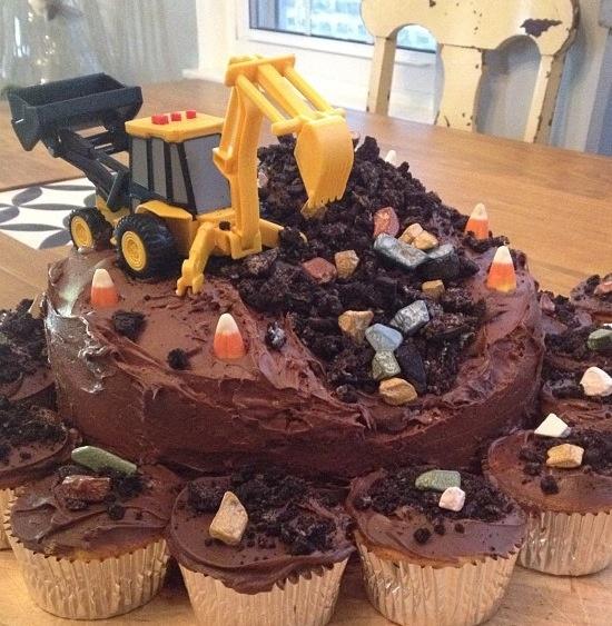 Cute boys cake