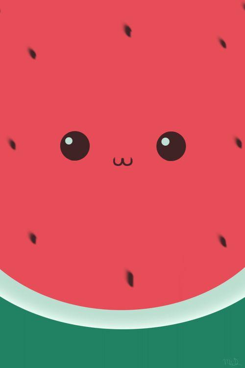 Cette petite pastèque n'est-elle pas chou ??? Avouer !!! ❤️❤️