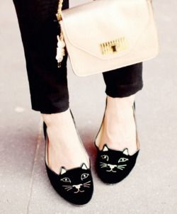 I would give anything for these cute flats