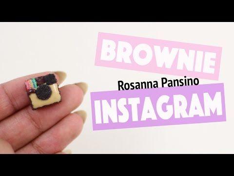 Old Instagram Logo Brownie (Rosanna Pansino inspired). - YouTube