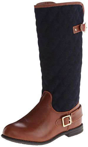 Tommy Hilfiger Kids Andrea Quilted Riding Boot