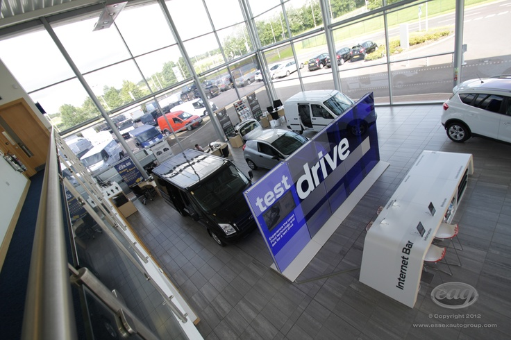 When looking for a new car, Essex Auto Group offer a clear and spacious environment with all our facilities available to you.