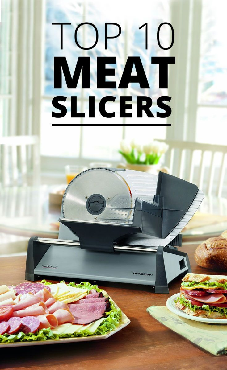 For occasional cooks and enthusiastic chefs alike, meat slicers add convenience and function to your kitchen - making slicing easy.  Here are the 10 best rated meat slicers: http://www.comparaboo.com/meat-slicers?origin=googled2