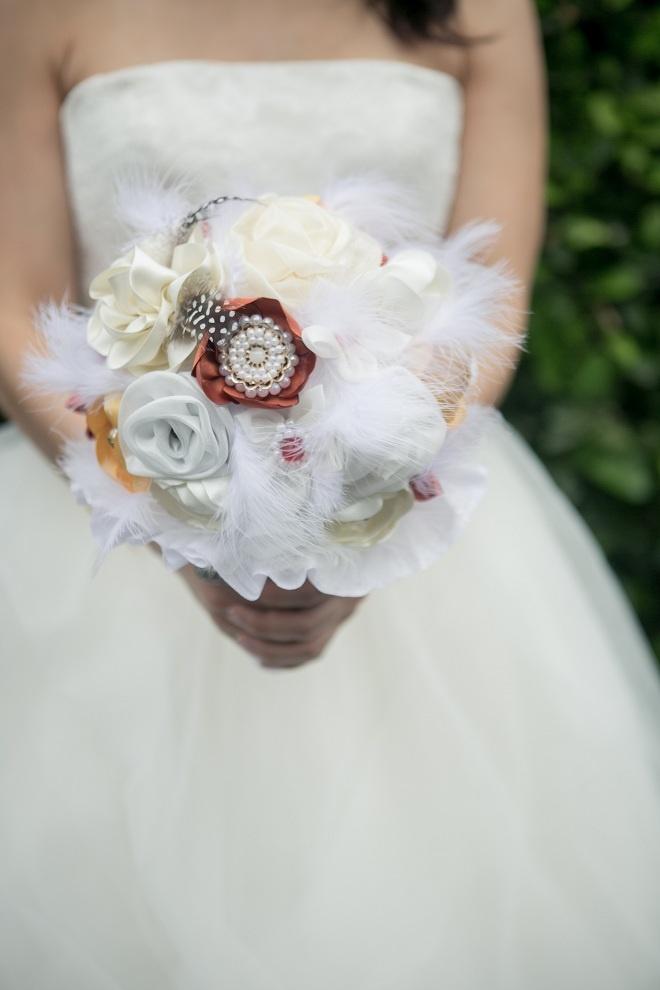 El hermoso Bouquet!  Foto: www.valeriaduque.net