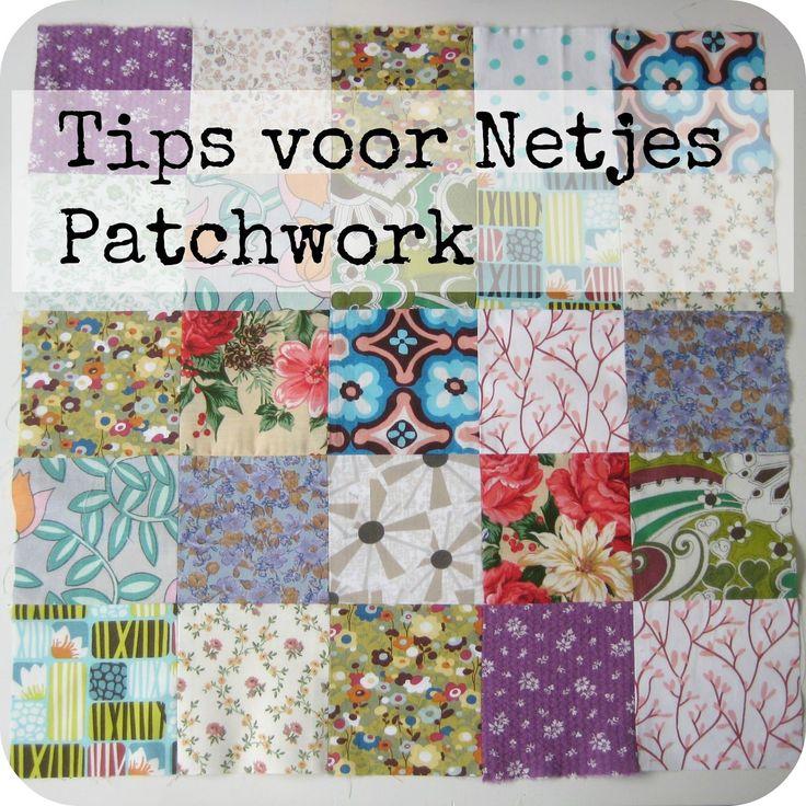 Sew Natural Blog: Tips & Trucs voor Netjes Patchwork