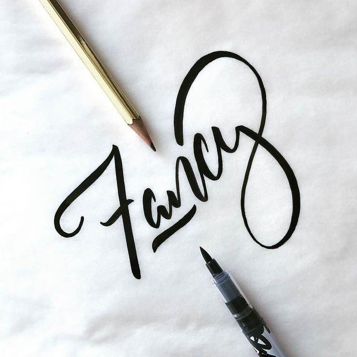 Beautiful script by @tygerstyles - #typegang - typegang.com | typegang.com #typegang #typography