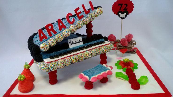tartas de chuches de piano de cola - Buscar con Google