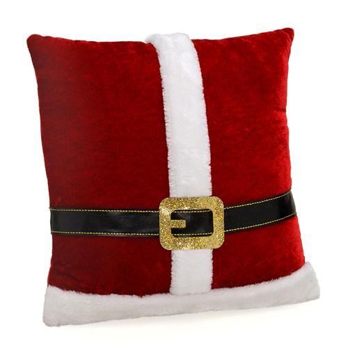 Almofada Papai Noel Santini Christmas 046-816411 - 35x35cm