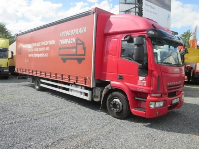 Iveco 120E25 20 palet, Truck Flatbed + tarpaulin in Rakovník, used buy on AutoScout24 Trucks