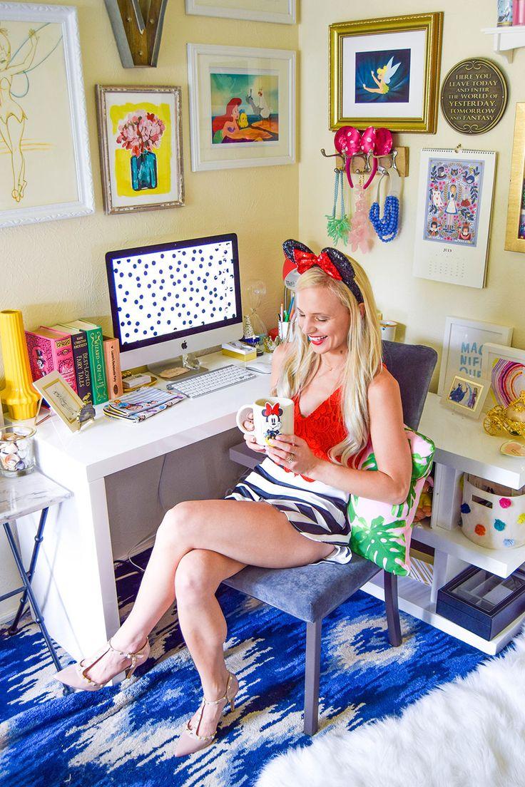 Disney desk + office decor | Vandi Fair feature | [ https://style.disney.com/living/2016/07/06/desk-space-should-look-like/ ]