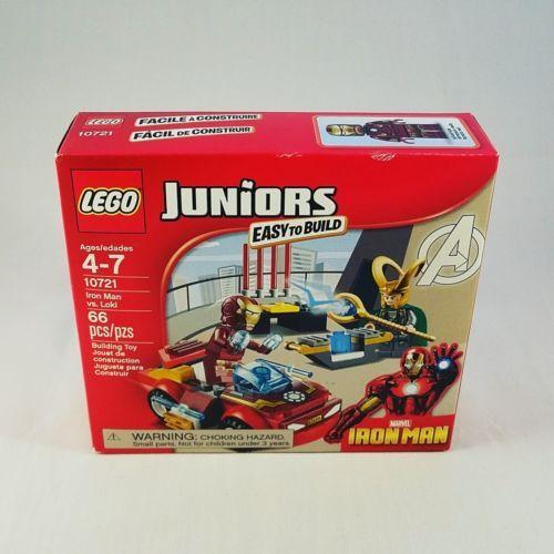 Lego-Juniors-10721-Marvel-Iron-Man-vs-Loki-66-Pieces-NIB