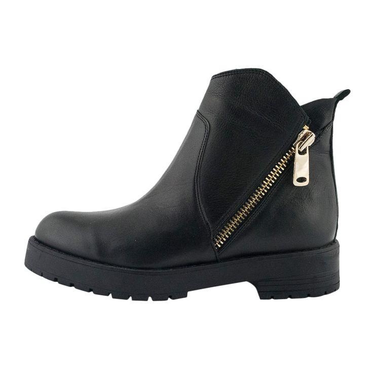 Με τα skinny jeans σου ή τις midi φούστες σου, το μποτάκι INUOVO είναι αυτό που ψάχνεις!  new leather ankle boot #inuovo #topshoes