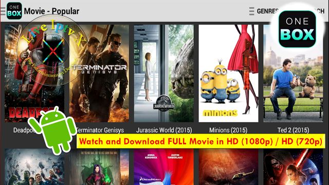 OneBox HD Android Movies Apk For Free Watch and Download Movies and TV Shows In HD On Android Devices   Movies Android Apk[ Iptv APK] : OneBox HD Android Movies and TV Shows APK- In this apk you can watch Free Movies by Genres (Action Adventure Sci-Fi & FantasyMystery Drama ComedyFamilyWesternWar & Politics Reality  Documentary Kids Animation and much more) and TV Shows also Download in HD 1080p / 720p HDOnAndroid Devices.  OneBox HD Android Movies Apk  Download OneBox HD Android Movies Apk…