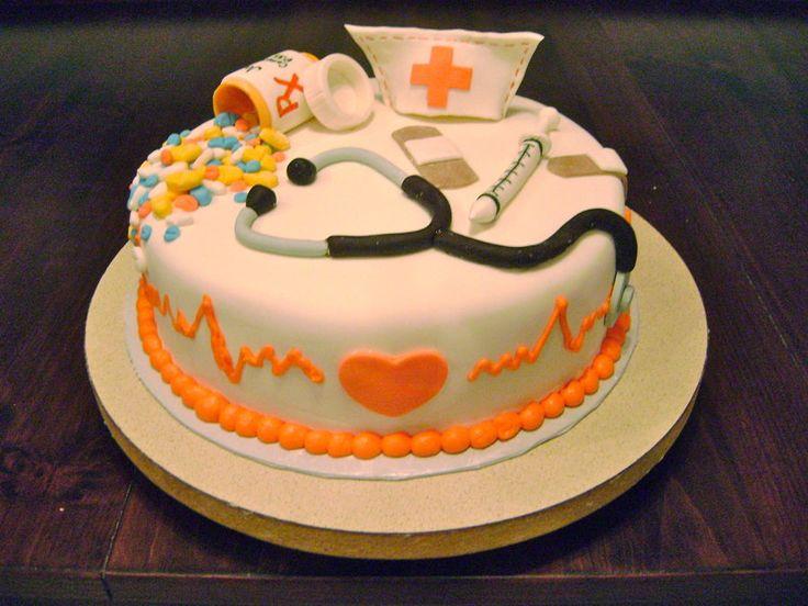 ... Nurse Cake?  Nurse  Pinterest  Birthday cakes, Creative and Nurse