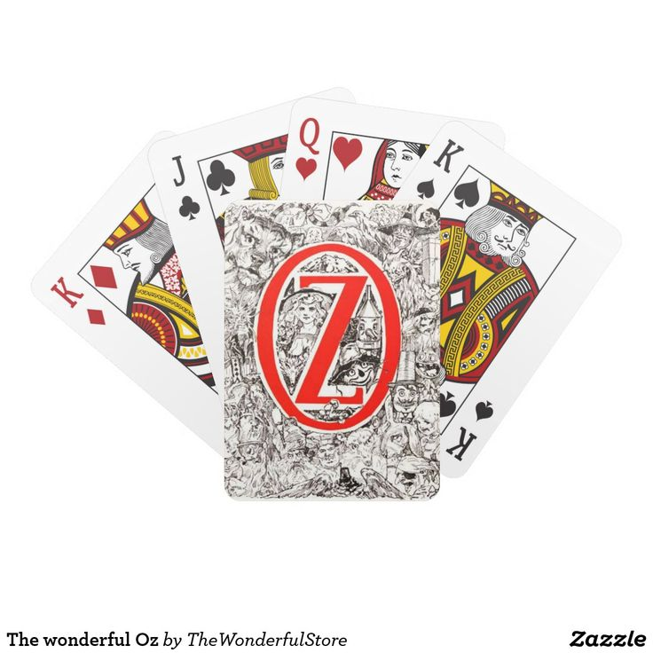 The wonderful Oz Playing Cards