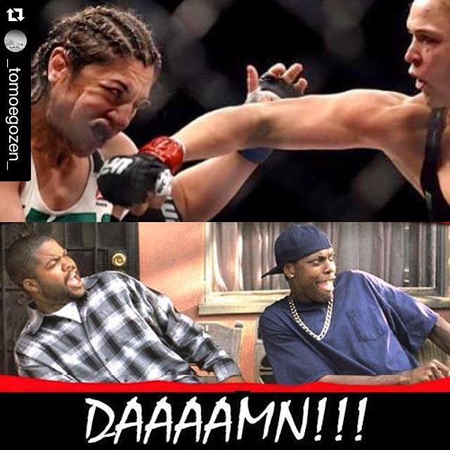 Rousey Memes from last night's fight #RouseyRoundhouse #Repost @_tomoegozen_ ・・・ #teamrousey #RondaRousey #BetheCorreia #DontCry