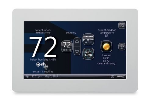 Lennox Icomfort Programmable Thermostat Review Home