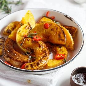 Spice-roasted butternut