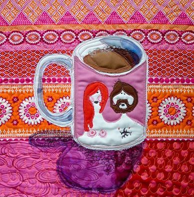Kawa włoska wypita na Podlasiu w kubku skandynawskim / Italian coffee drank from the Scandinavian mug in Podlasie  - Ula