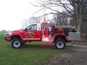 Brush Truck look the new Engine 907