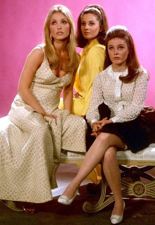 Sharon Tate, Barbara Parkins and Patty Duke - Valley of the Dolls promo shot                                                                                                                                                                                 More