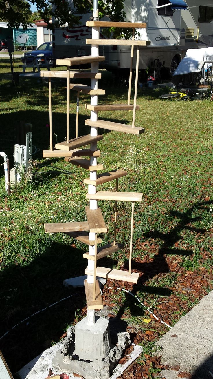 Best Spiral Stairs For Outdoor Cat Lounge Cat Lounge 400 x 300