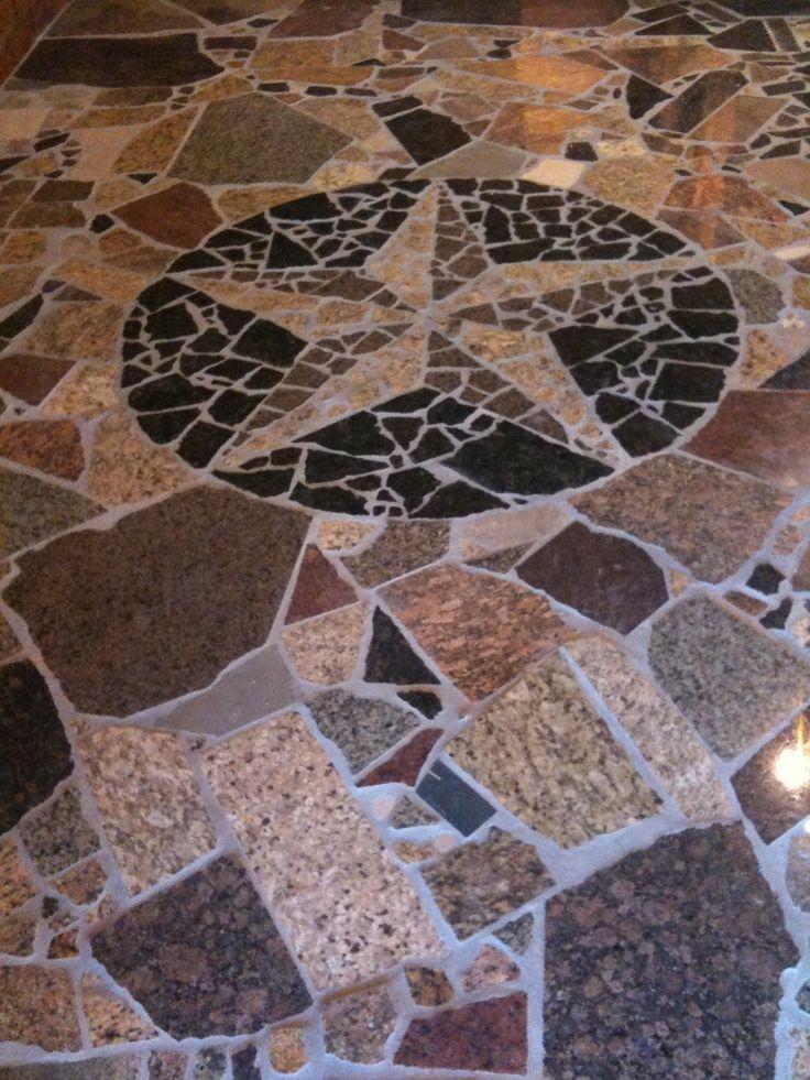 how to make granite floor shine