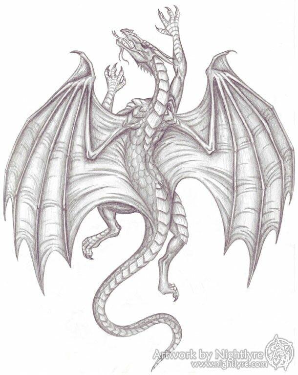 Climbing medieval dragon