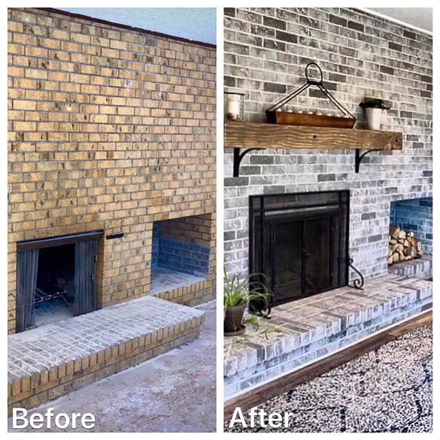 Brick Stain In 2020 Brick House Exterior Makeover Brick Exterior House Brick Fireplace Makeover