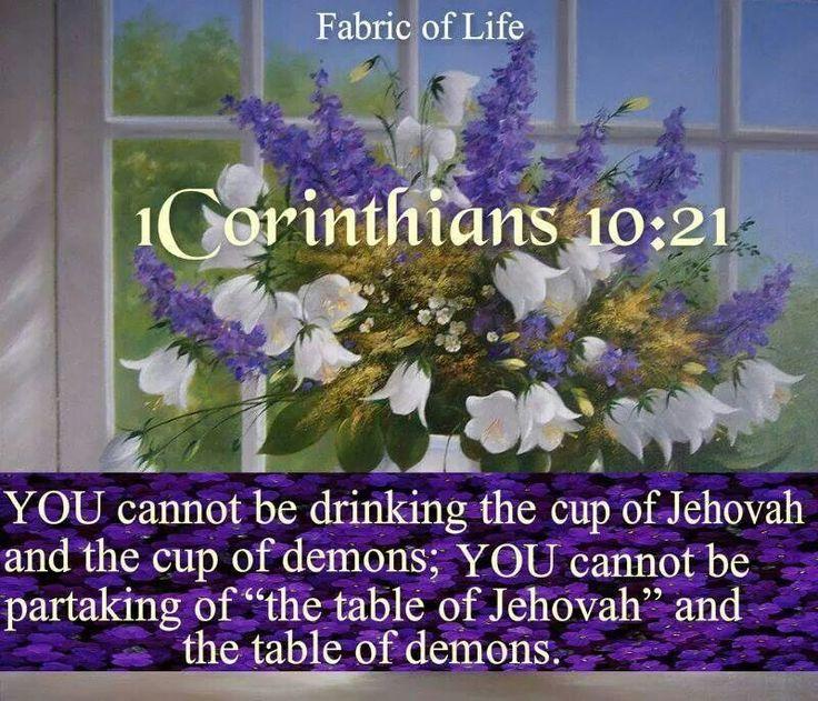 1 Corinthians 10:21