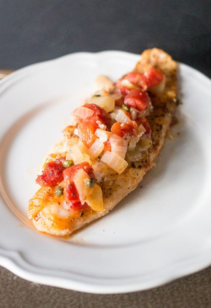 27. Tuscan Baked Fish #healthy #dinner #recipes http://greatist.com/eat/healthy-weeknight-recipes