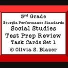 These Georgia Performance Standards Social Studies Test Prep Review Task Cards are appropriate for 3rd grade students. 24 task cards are excellent ...