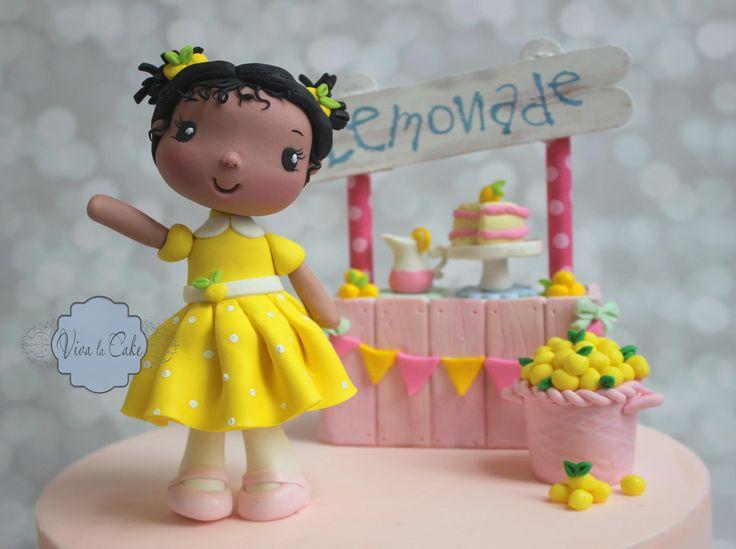 Viva La Cake I Blog: Tutorial: How to make a little Girl Topper